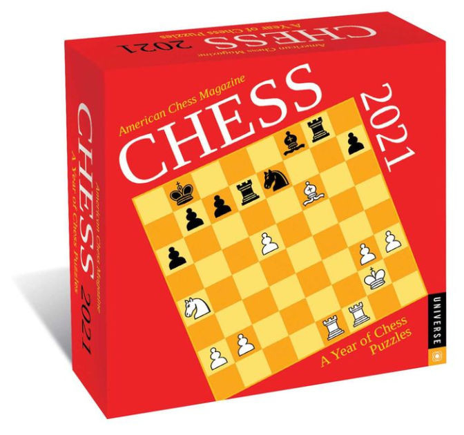 Chess 2021 Day-To-Day Calendar: A Year Of Chess Puzzles By-Day To Day Calendar 2021