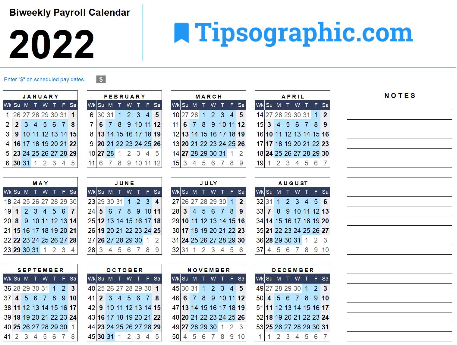 Download The 2022 Facebook Marketing Calendar (With U.s-2021Biweekly Payroll Calendar Template