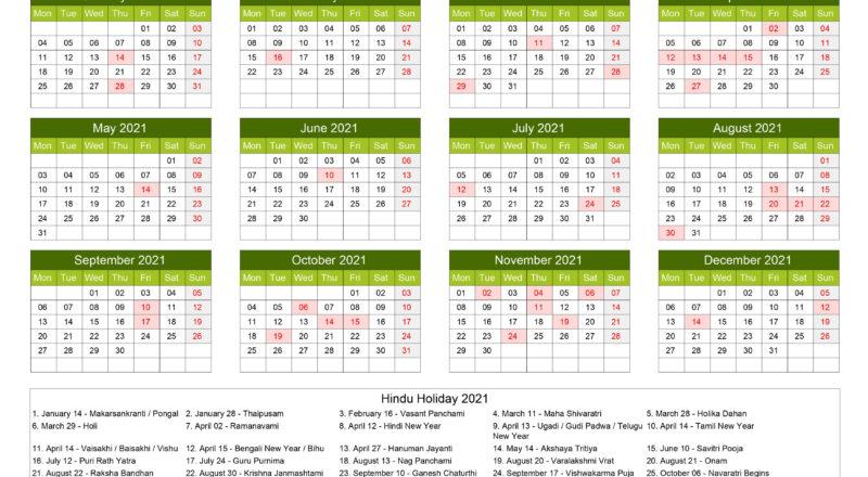 Downloads: 0 Version: 2021 File Size: 132 Kb-Jewish Christian Calendar 2021