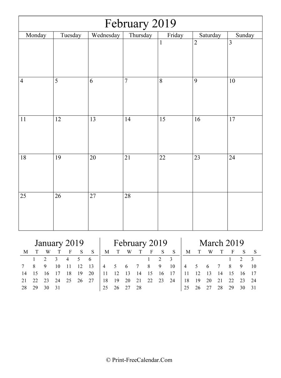 Editable Calendar February 2019 (Portrait Layout)-Editable Calendar October 2021 Sunday Through Saturday