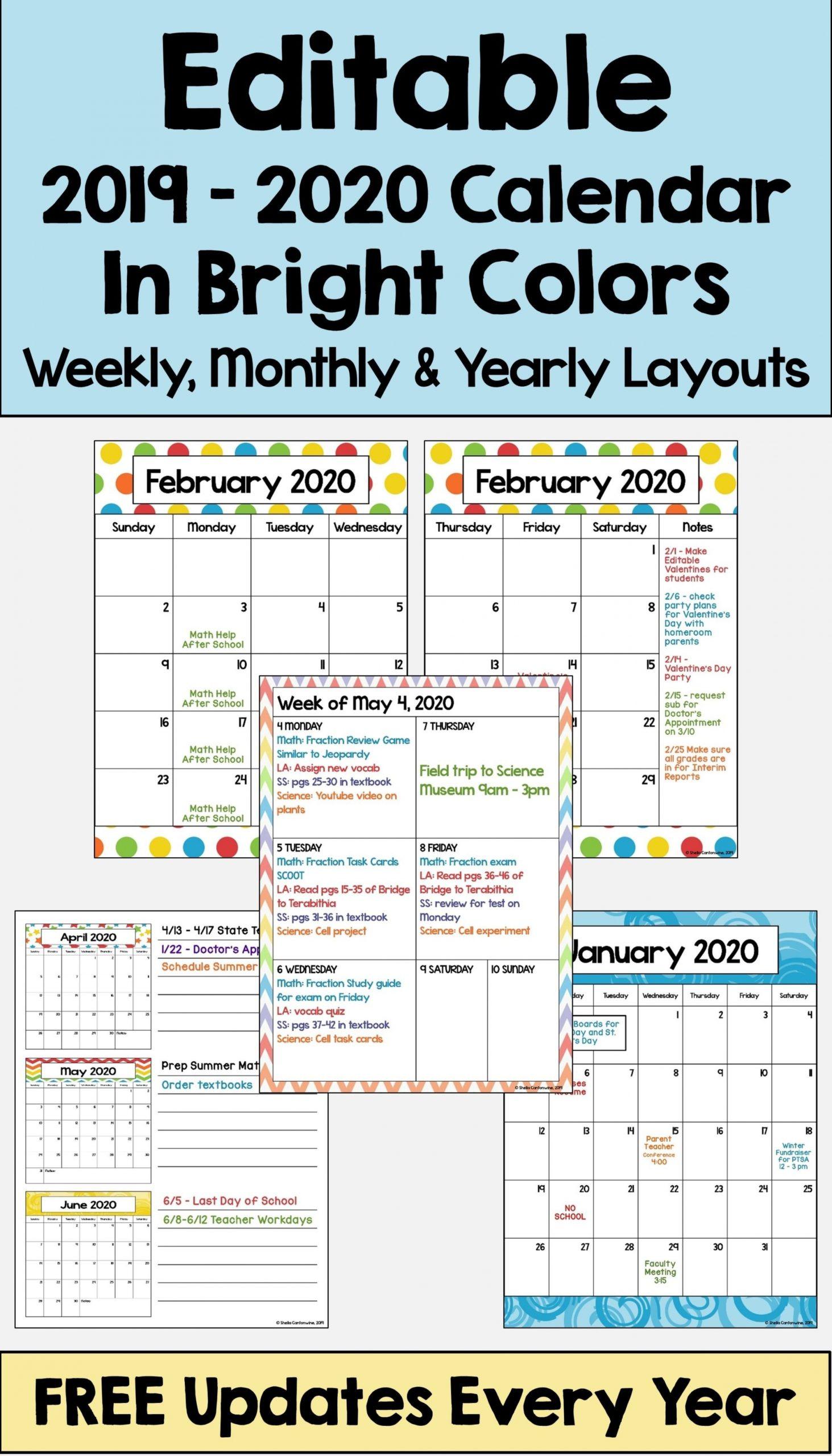 Free Preschool Calendar Printables 2021   Free Letter-2021 Vacation Calendars