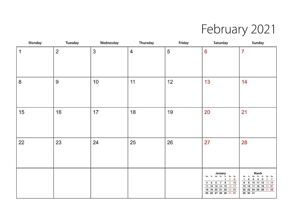 Free Printable 2021 Calendar: Organize The New Year With-2021 Calendars To Fill In And Print