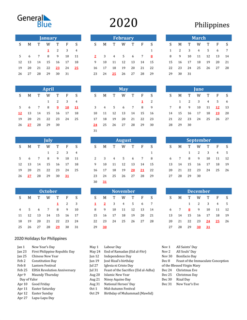 Free Printable Calendar In Pdf, Word And Excel - Philippines-Philippine 2021 Calendar.pdf