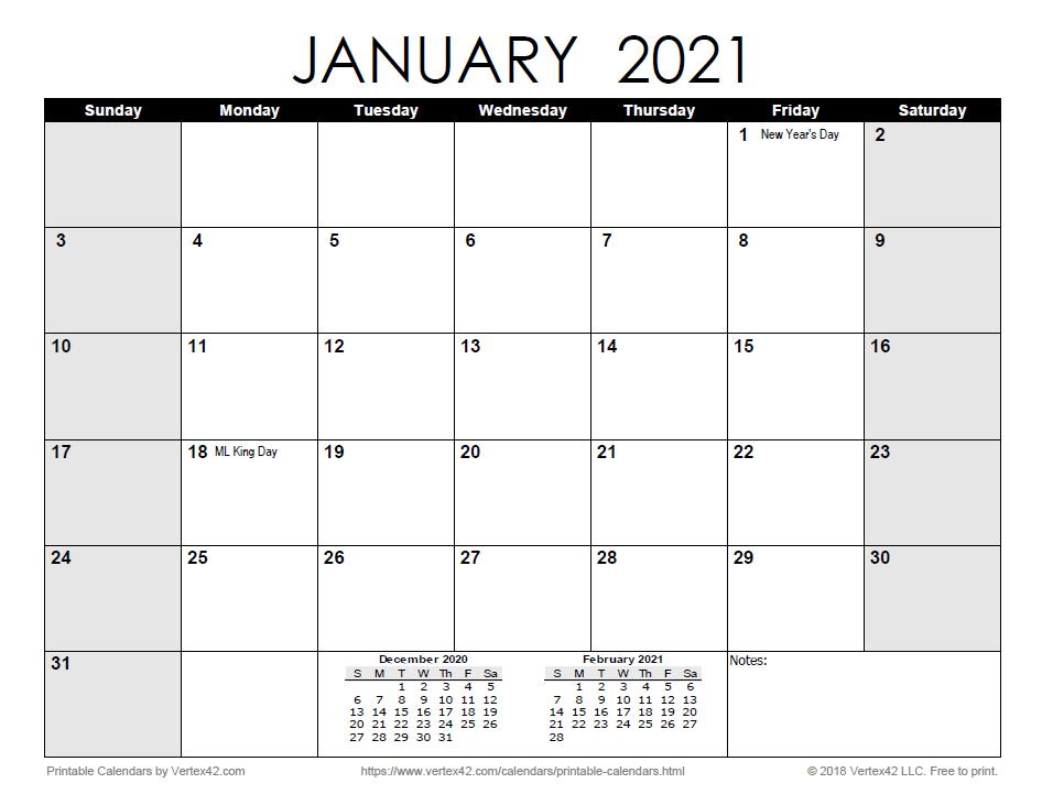 Free Printable Calendar - Printable Monthly Calendars-2021 Free 12 Month Printable Monthly Calendar