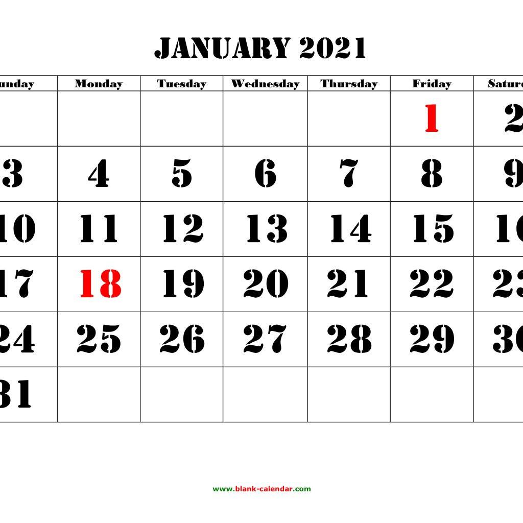 January 2021 Calendar Monday To Friday | Avnitasoni-October Monday Thru Friday Calendar 2021