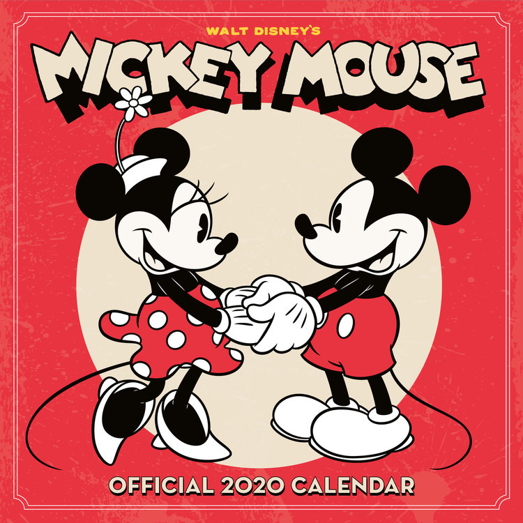 Kalender 2021 Mickey Mouse Classic Bei Europosters-Free Mickey Muse Calendars 2021