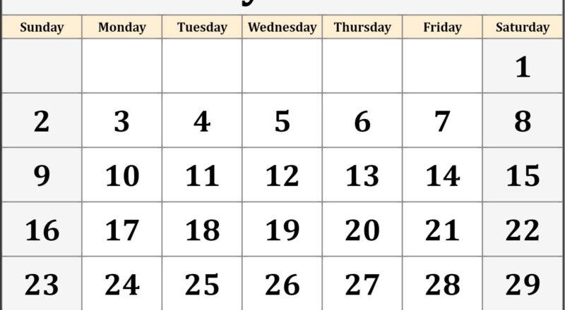 May 2021 Blank Calendar Templates.-Free Blank Printable Monthly Calendar 2021