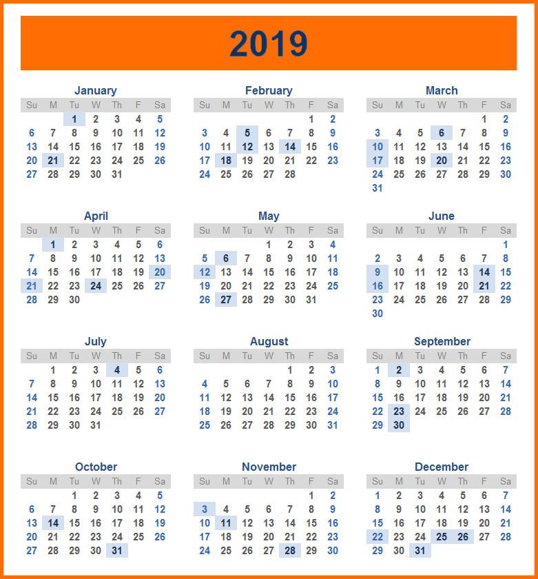 Mercantile Holiday Calendar 2019 Sri Lanka | Go Calendar-Mercantile Holidays 2021 Srilanka