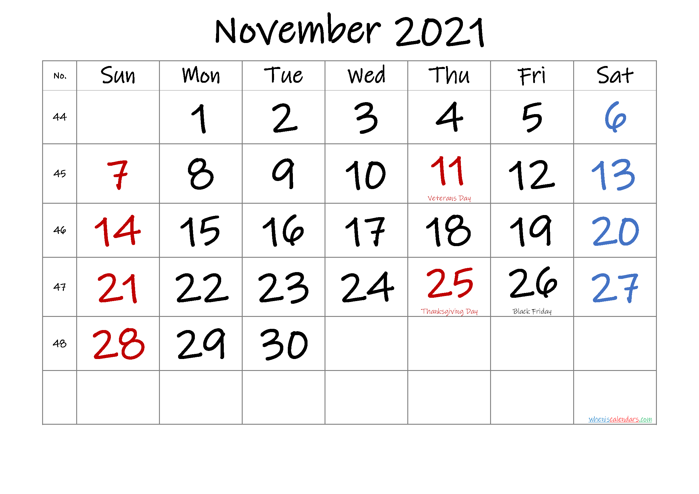 Microsoft Word 2021 Printable Monthly Calendar With-Microsoft Word Calendar Template 2021