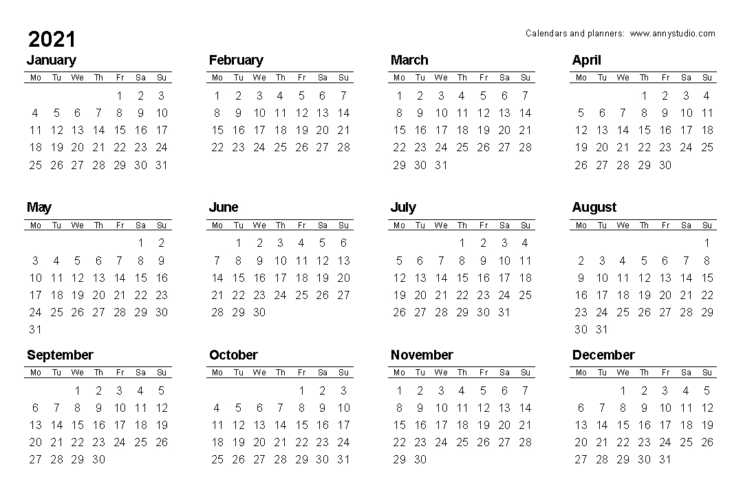 Monday To Friday Calendar 2021 | Christmas Day 2020-August 2021 Calendar Monday Through Friday Only