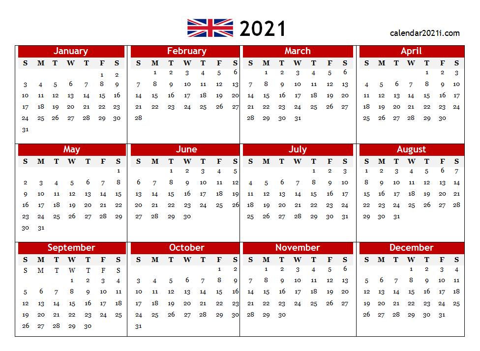 Monthly Calendar 2021 Printable Free Word : Printable 2021-2021 Absentee Calendar