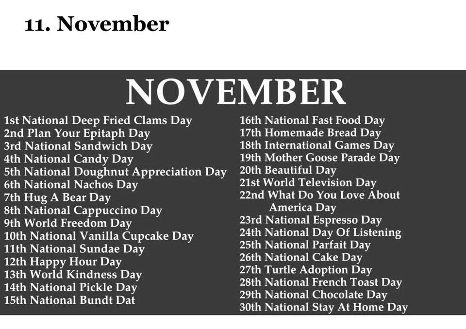 Pin By Wtf On Online Work In 2020   Weird Holidays, Silly-National Food Days 2021 Calendar