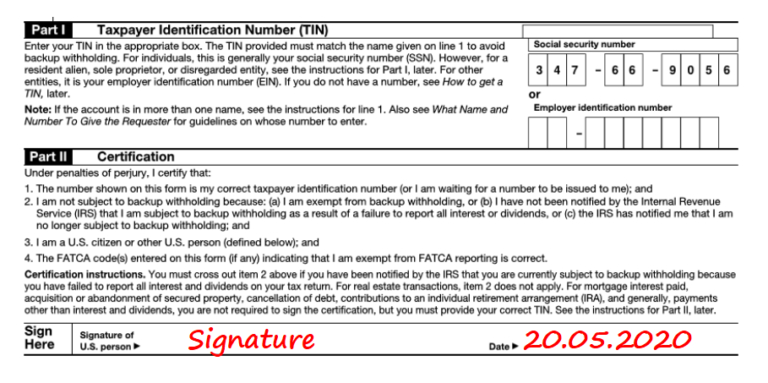 Printable W-9 Form 2021 - Fillable Irs W-9 Form-2021 Editable W-9