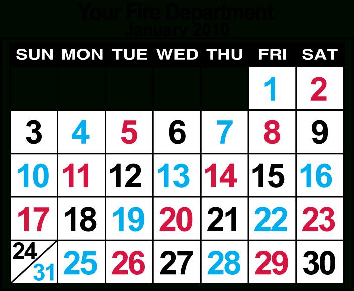 Sample Wall Calendar-Free Large Number Printable Calendars