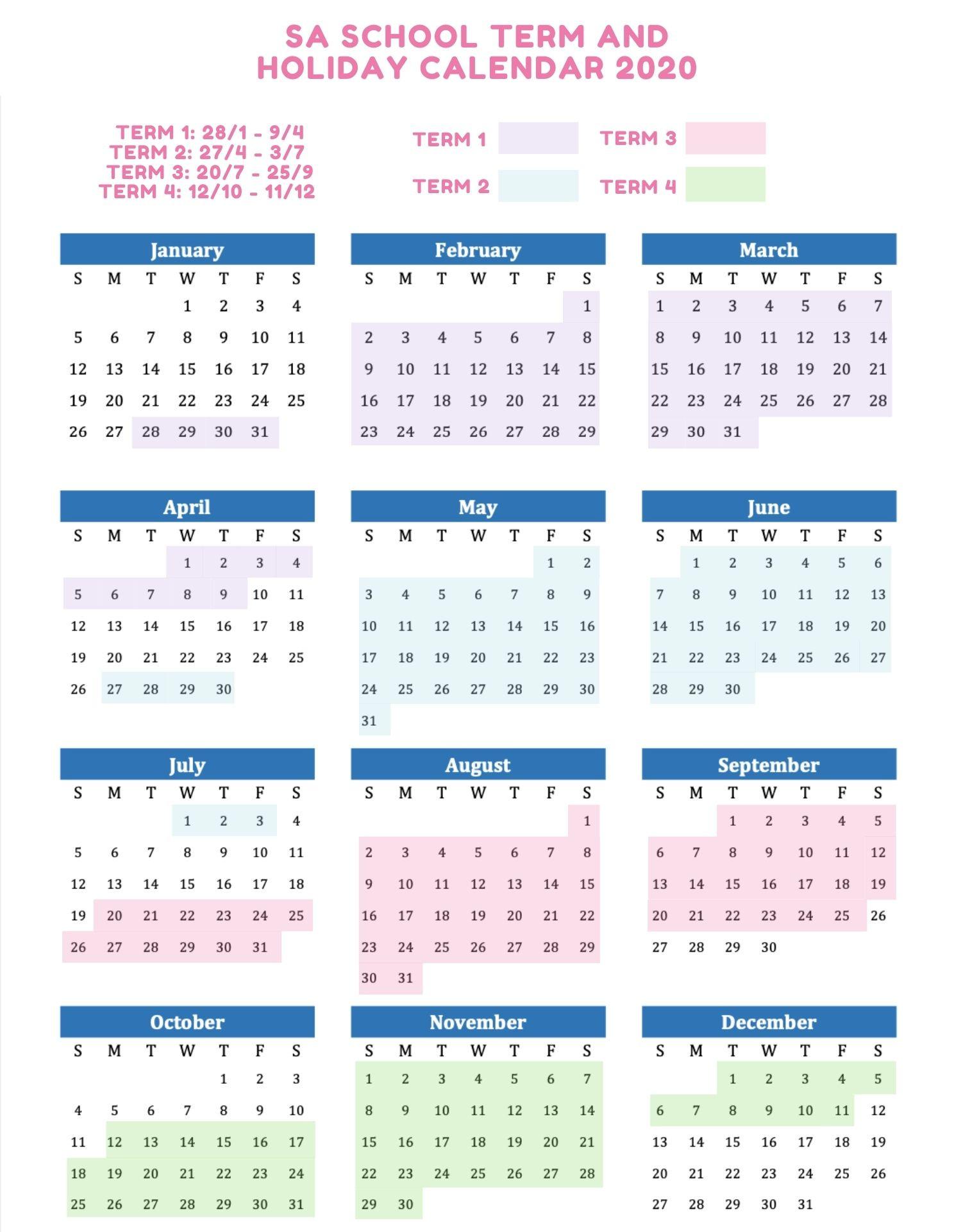 School Holidays And Term Dates Australia 2020/2021-School Holiday In Sarawak 2021