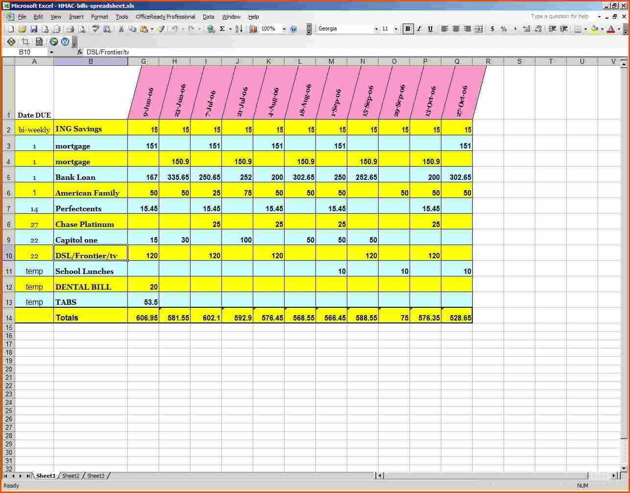 Search Results Bills Spreadsheet Template - Besttemplatess-Monthly Bill Spreadsheet Templates 2021