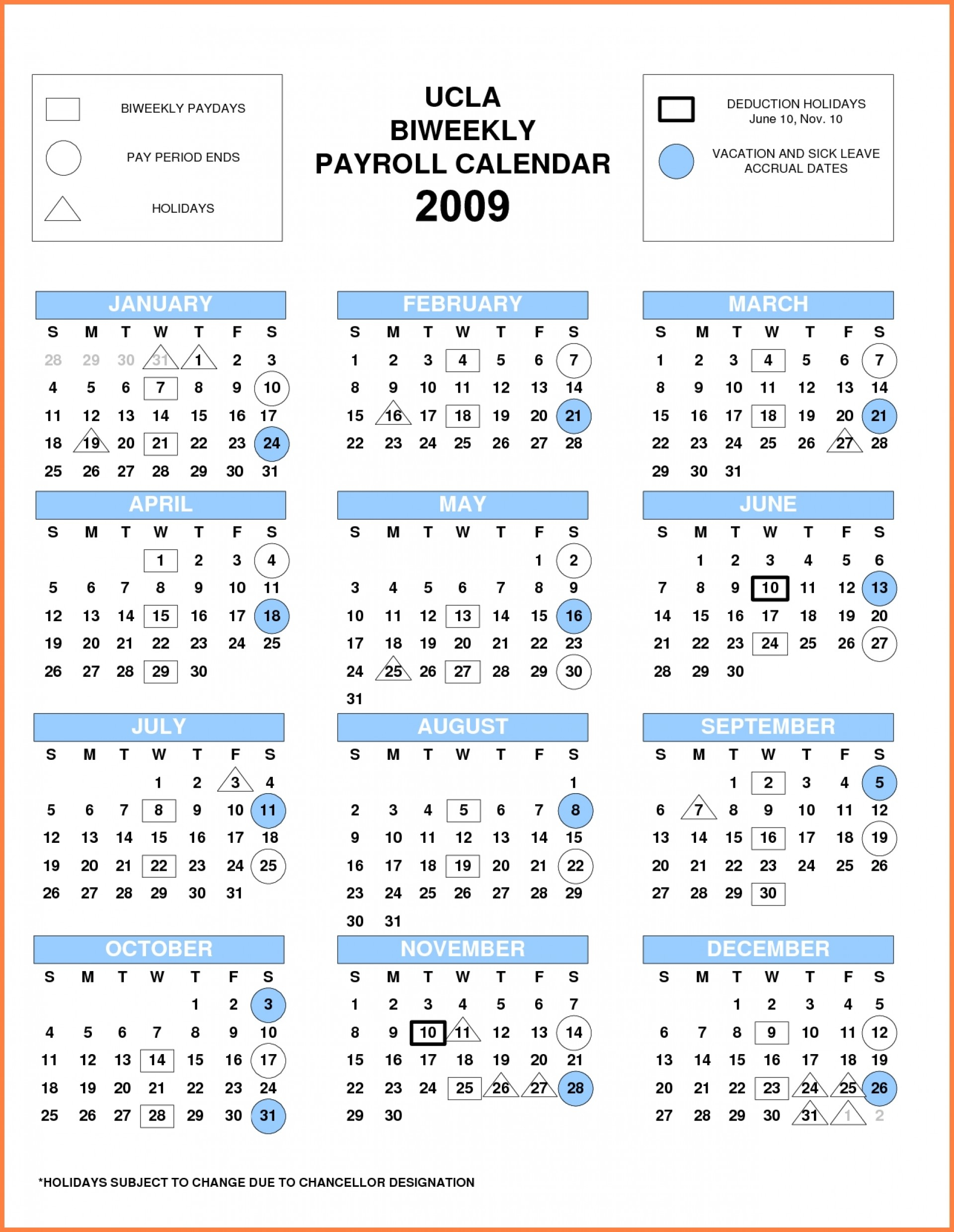 Uc Biweekly Payroll Calendar 2020 | Payroll Calendar 2021-2021Biweekly Payroll Calendar Template