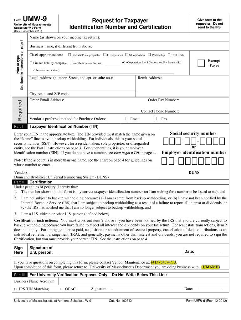 W9 2019 - Fill Out And Sign Printable Pdf Template | Signnow-2021 W9 Blank Form