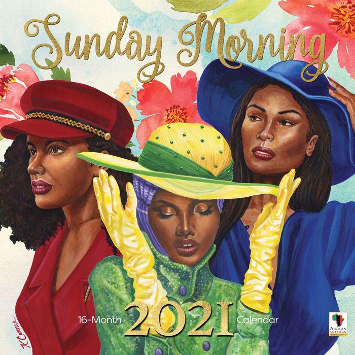 Wc197 2021 Sunday Morning Wall Calendar-Calendar 2021 Sat Thru Sunday
